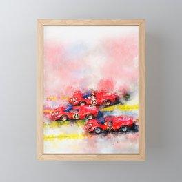 Victory Formation Daytona 1967 Framed Mini Art Print