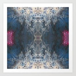 Dimensional Tones Art Print