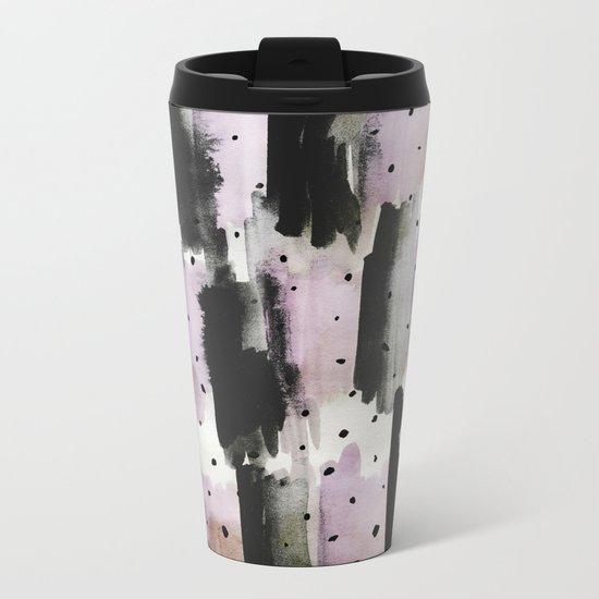 PatternMix02 Metal Travel Mug