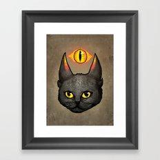 Saurpuss Framed Art Print