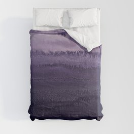 WITHIN THE TIDES ULTRA VIOLET by Monika Strigel Comforters