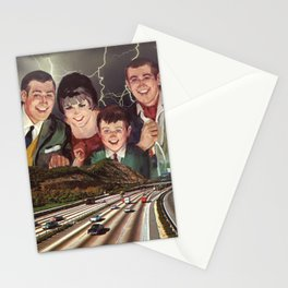 Family Freeway Fun Stationery Cards
