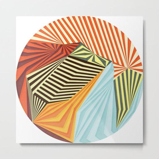 Yaipei Metal Print