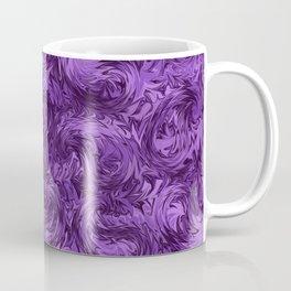 Marbled Paisley - Purple Coffee Mug