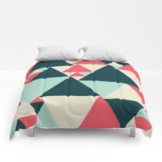 Triangular Pattern  Comforters