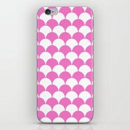 Fan Pattern 321 Pink iPhone Skin