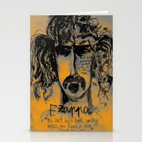 zappa Stationery Cards featuring Zappa by sladja