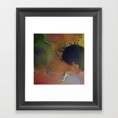 Watercolor Abstract Mini Series #1 Framed Art Print