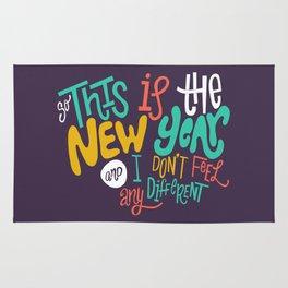 New Year Rug