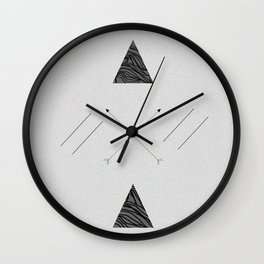 Arrows laced with Noise Wall Clock