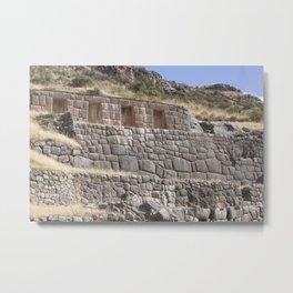 Tambomachay - Cusco Metal Print