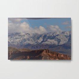Desert Snow on Christmas - II Metal Print