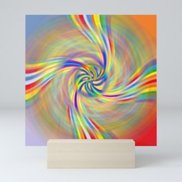 Rotating Rainbow Mini Art Print