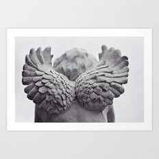 she has wings Art Print