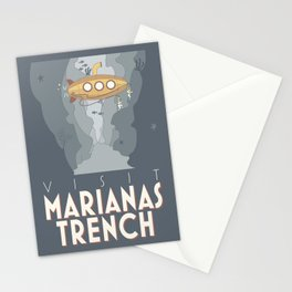 Visit Marianas Trench Stationery Cards