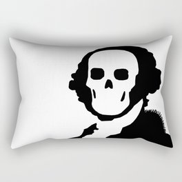 The One Dollar Man Rectangular Pillow