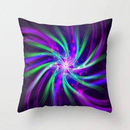 molecular memory Throw Pillow