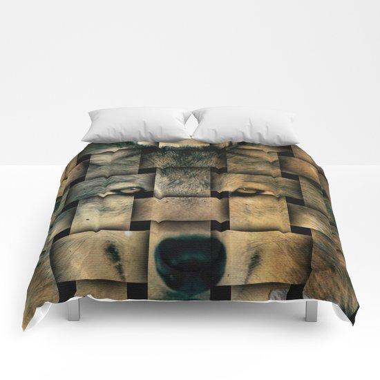 Woven Wolf Comforters