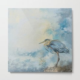 Shore Bird 8664 Metal Print