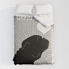 BULLDOG – My Companion - Grey Comforters