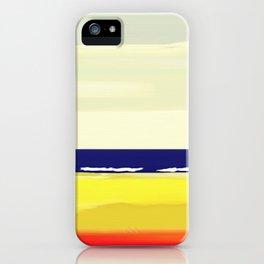 Haifa Israel Mediterranean Beach iPhone Case