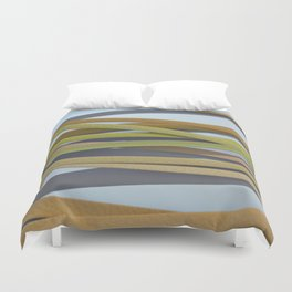 ribbon paper background yellow Duvet Cover