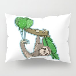 Birthday sloth Pillow Sham