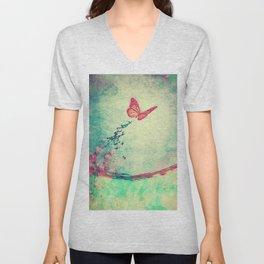 Waterfly II Unisex V-Neck