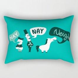 The Naysayers Rectangular Pillow