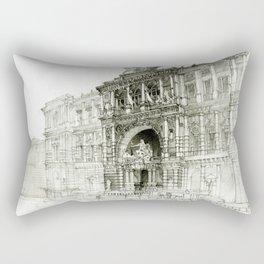 Roma palazzo Rectangular Pillow