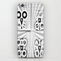 matrix iPhone & iPod Skins featuring Matrix  by Amanda Chapdelaine