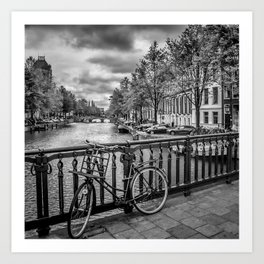 AMSTERDAM Emperors Canal Art Print