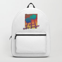 at dawn they dream Backpack
