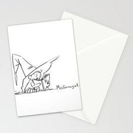 Mcgonagall Baby Halloween Witch Stationery Cards