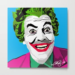 Pop Joker: Romero Metal Print