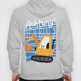 Achtung Bagger Hoody