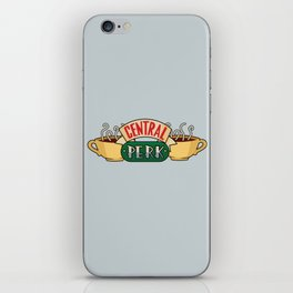 Central Perk Coffee Shop - Friends TV Show iPhone Skin