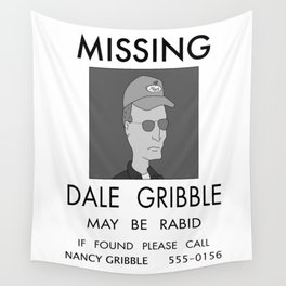 Dale Gribble, May be Rabid Wall Tapestry