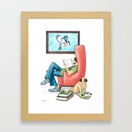 Epic Reader Framed Art Print