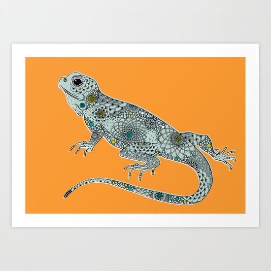 The Lizard Art Print