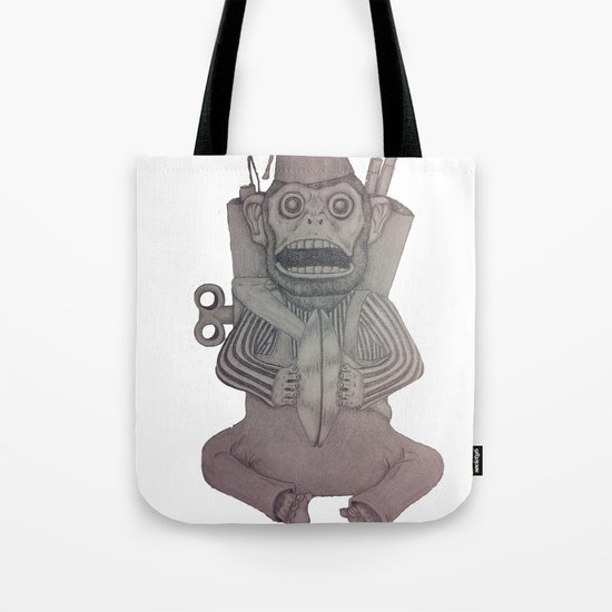 Monkey Bomb  Tote Bag