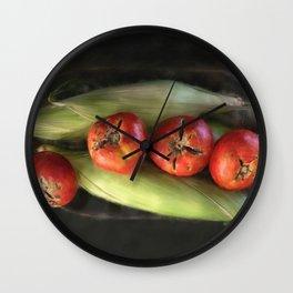 Farm Produce Wall Clock