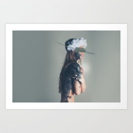 Intoxicated with Madness Art Print