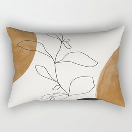 Abstract Plant Rectangular Pillow