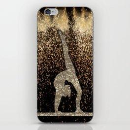 Sparkle Gymnast iPhone Skin