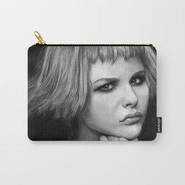 Chloe Grace Moretz fanart portrait Carry-All Pouch