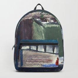 Rauchen Menschen Backpack