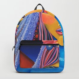 Blue Bride Backpack
