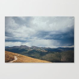 Summer Rainstorm over Rocky Mountain National Park Canvas Print