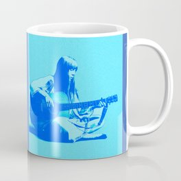 Blue Songbird Joni Mitchell Coffee Mug